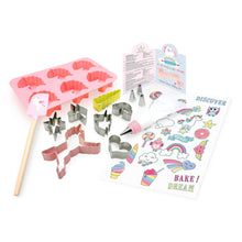 Load image into Gallery viewer, Rainbows & Unicorns Ultimate Baking Set