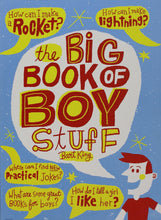 Load image into Gallery viewer, The Big Book Of Boy Stuff