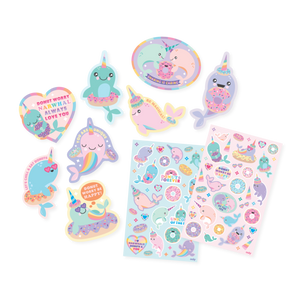 Narwhals Scented Stickers