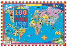 Load image into Gallery viewer, Map of the World 100 Piece Puzzle