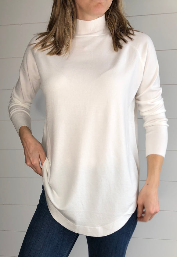 Cashmere blend mock-neck Sweater