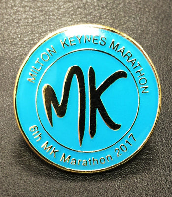 MK Marathon 2017 Event Badge