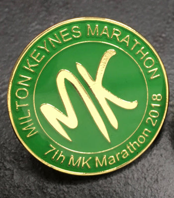 MK Marathon 2018 Event Badge
