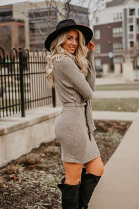 Business Or Pleasure Sweater Dress