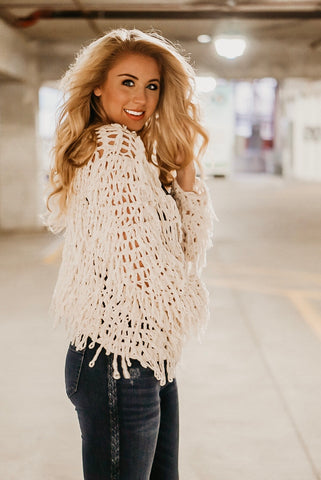 Shaggy Chic Fringe Jacket