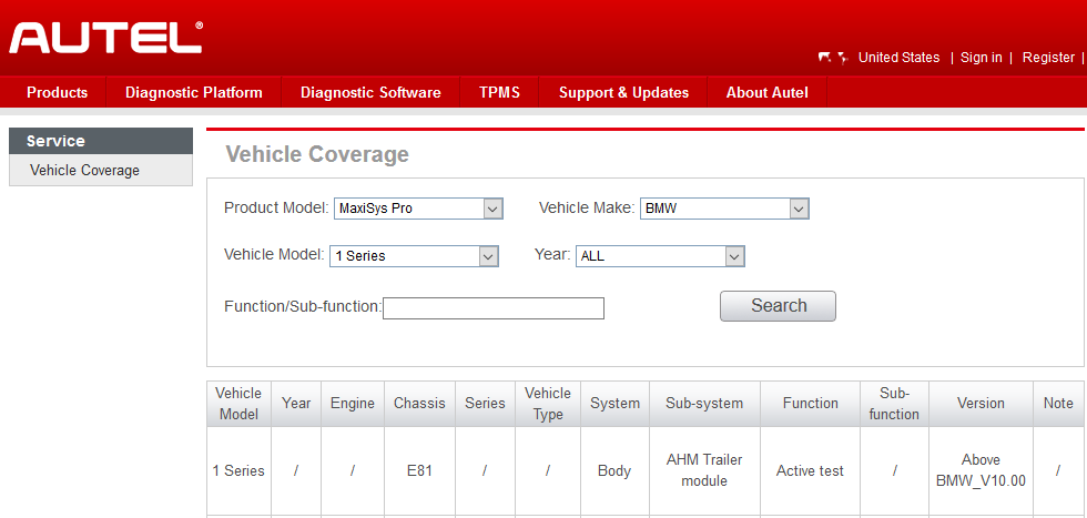 How to Check if Autel MS908 Pro Support Your Car