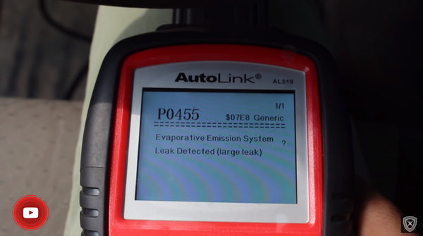 how to use an Autel AutoLink AL519 to read and clear DTC codes