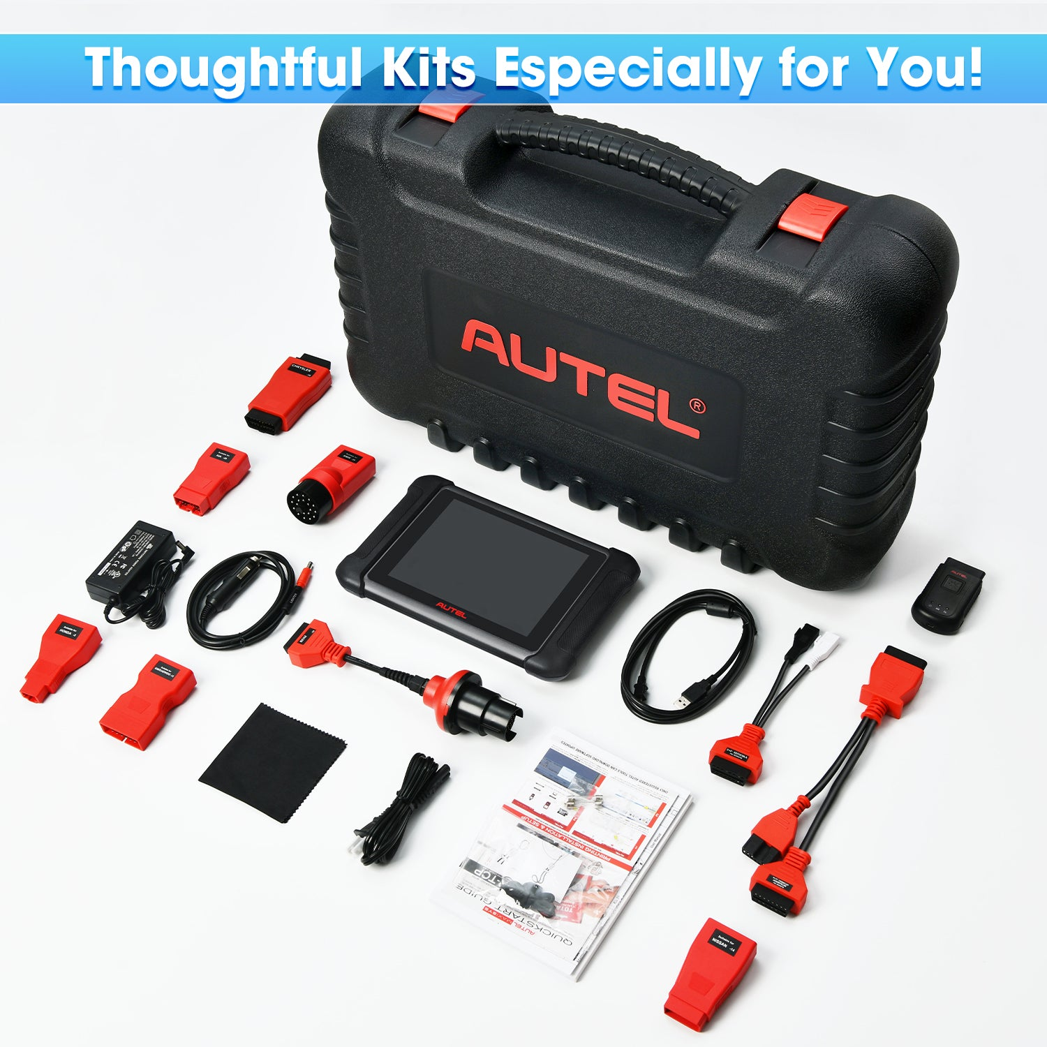 Autel MaxiSys MS906BT Package Lists