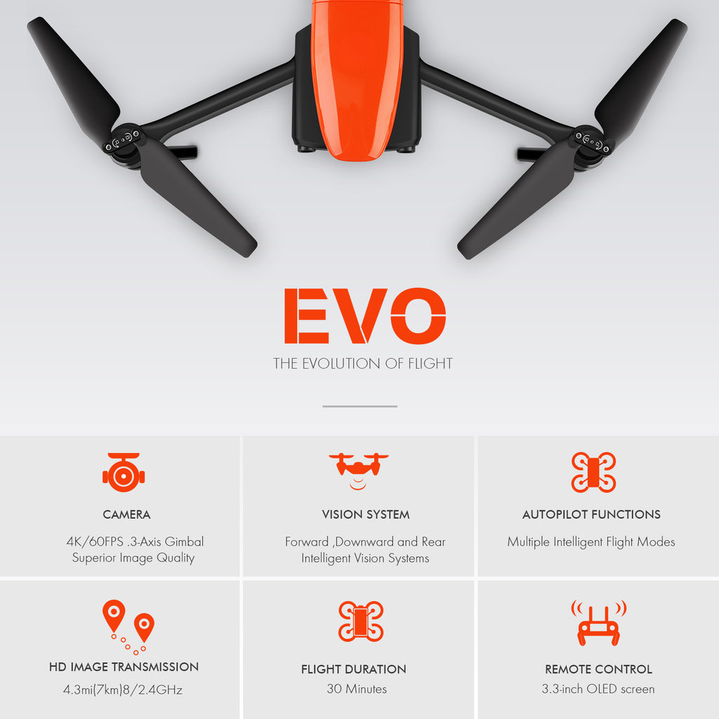 Autel EVO Intelligent Flight Mode and Feature