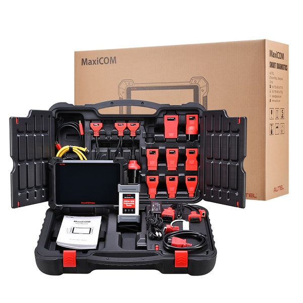 Autel MaxiCOM MK908 pro auto diagnostic tool package