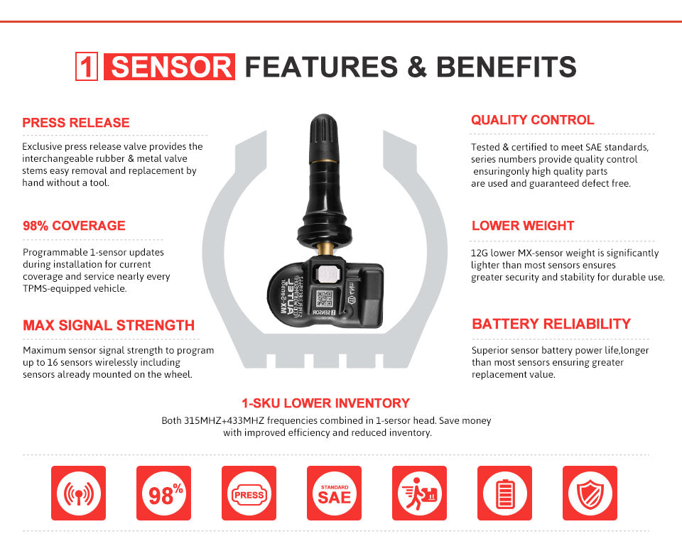autel 2in1 sensor main features