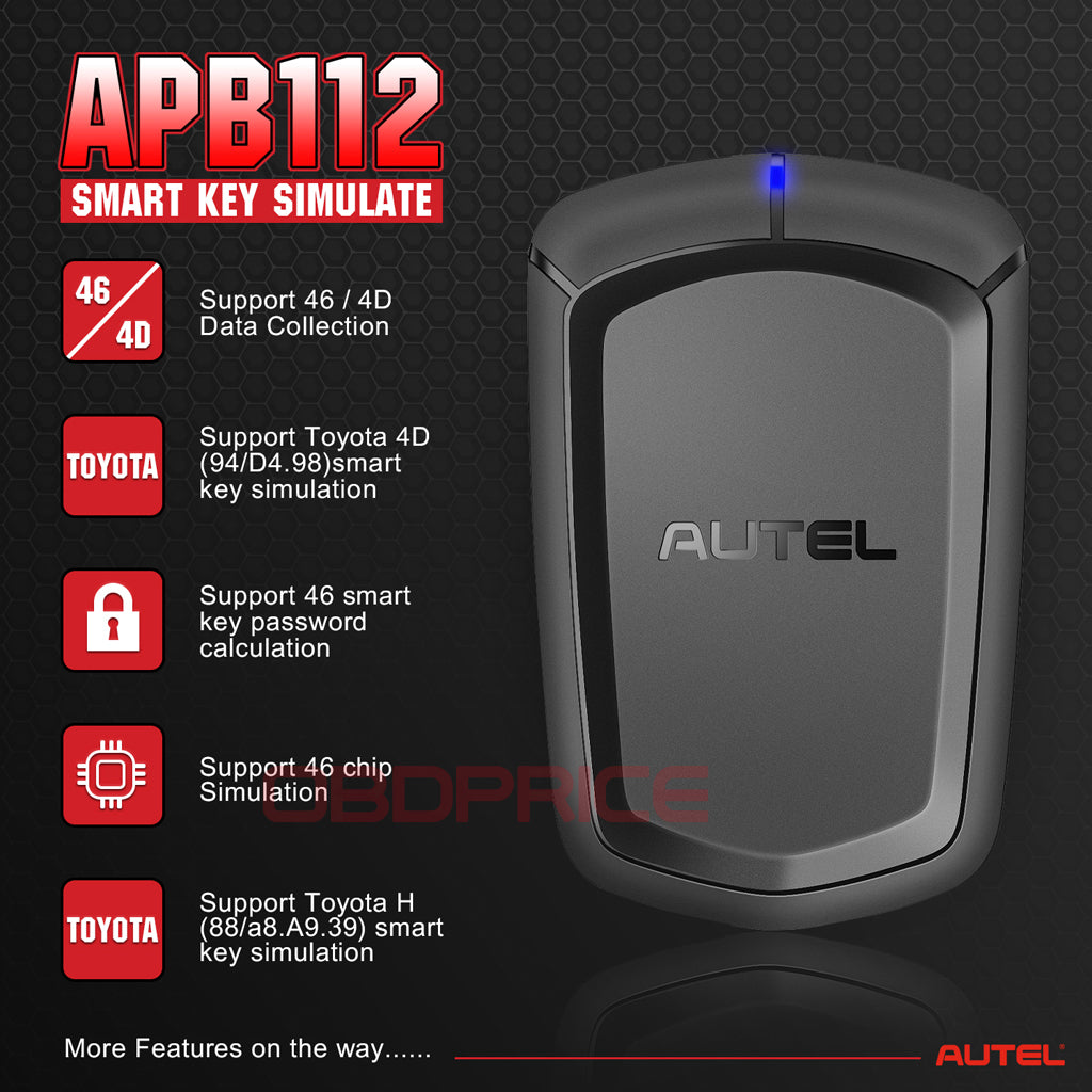 Autel APB112 Features