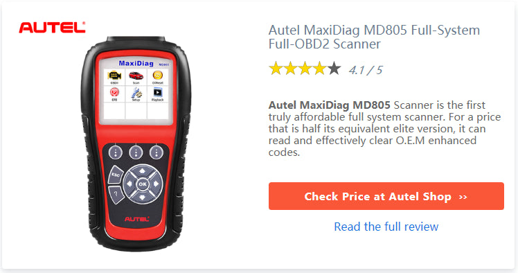 Autel MD805 full system scanner