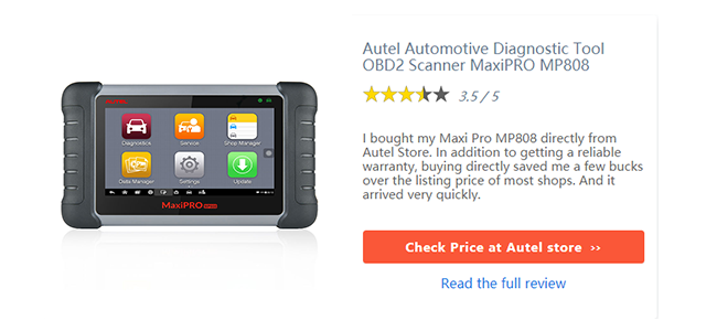 View More Review On Autel MP808