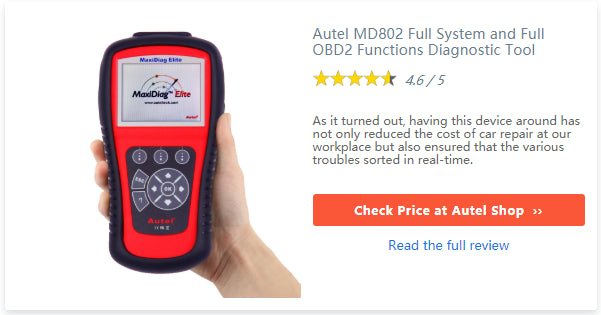 Autel MD802 scanner