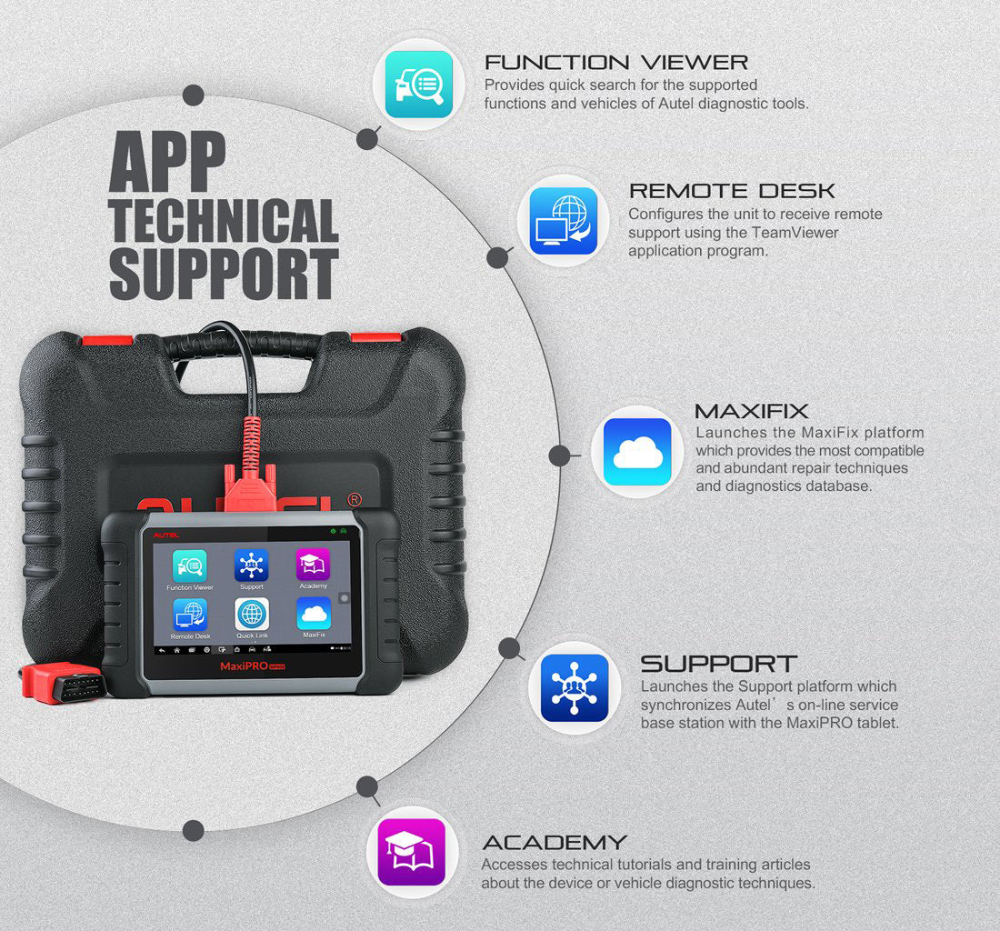autel mp808k suport complete technical support