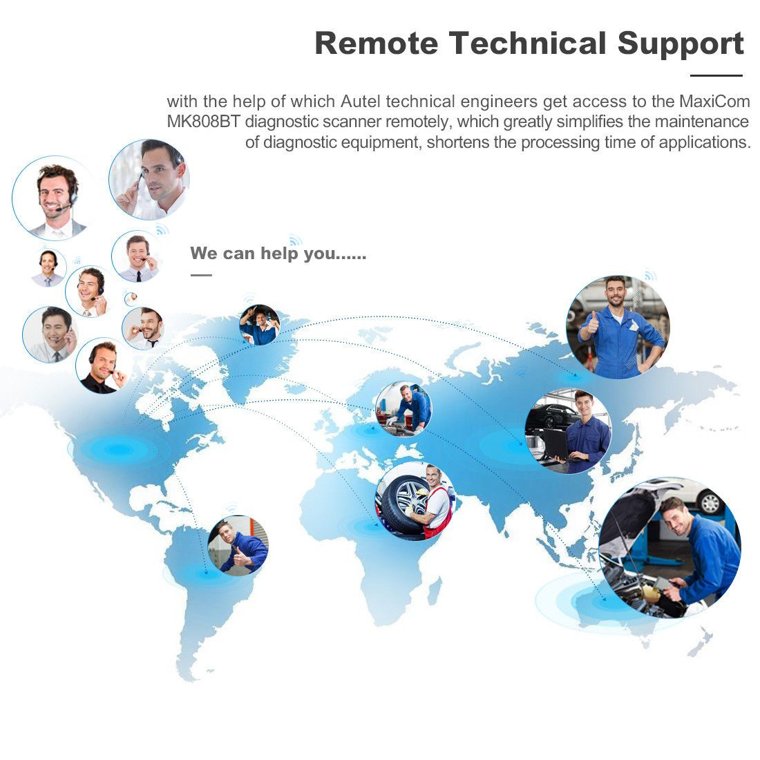Support Remote Technical Support:
