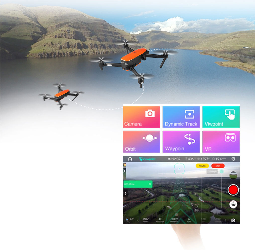 Autel EVO Intelligent Flight Mode