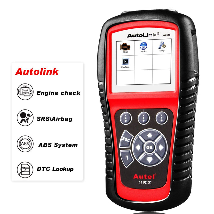 Autel AutoLink AL619 Scanner features