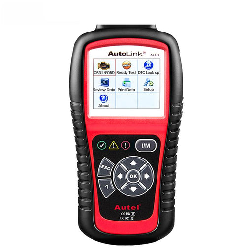 Autel AutoLink AL519 OBD2 Scanner EOBD Code Reader Upgraded Version MaxiScan MS509