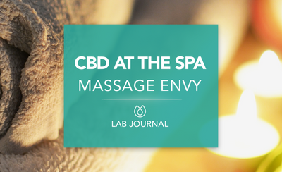 CBD At The Spa: Massage Envy