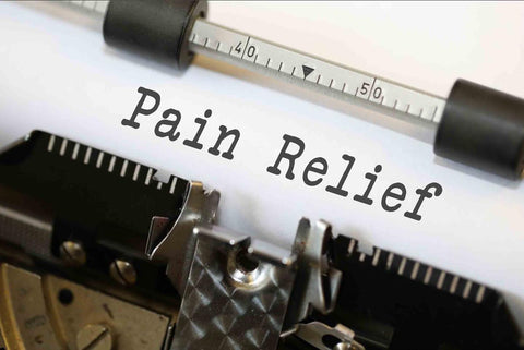 Pain Relief type writer