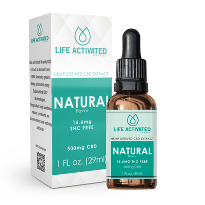 500mg THC Free - Natural Flavor