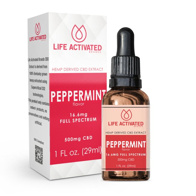500mg Full Spectrum - Peppermint Flavor