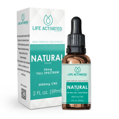 3000mg Full Spectrum - Natural Flavor