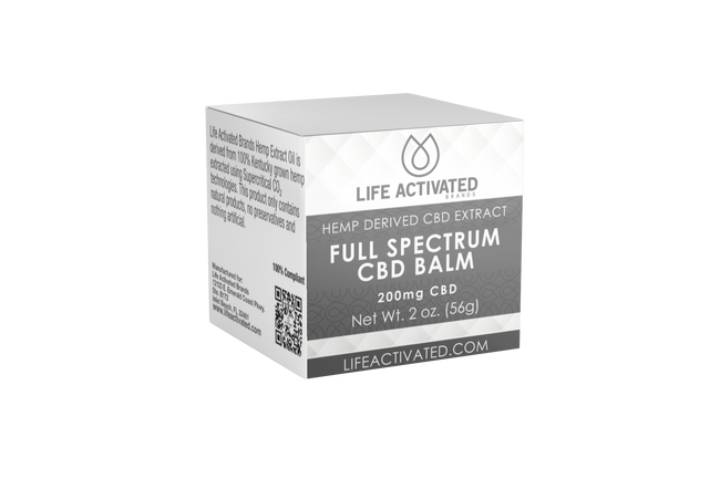 200mg Full Spectrum CBD Balm