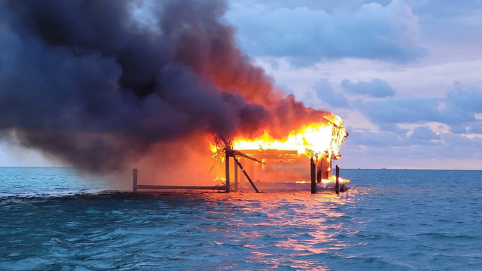 The Stiltsville Fire 2021