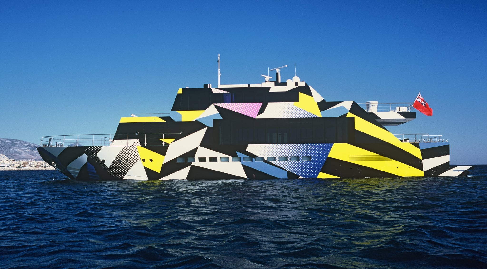 Jeff Koons Guilty Yacht