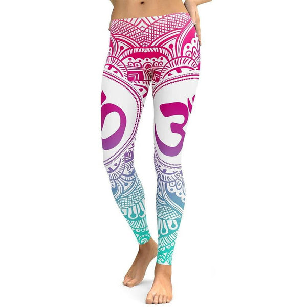 Legging Yoga <Br> Aum Ultra Confortable - Chakras Yoga