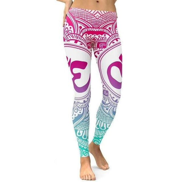 Legging Yoga <Br> Legging Aum ultra confortable