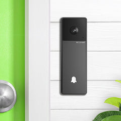 Comelit Visto WiFi Video Doorbell Kit - Installed