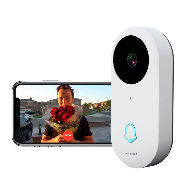Dophigo 960P Wi-Fi Enabled Smart Video Doorbell
