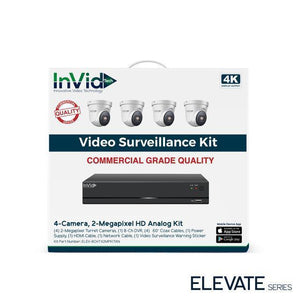 InVid 4 Camera 2 Megapixel HD Analog Kit
