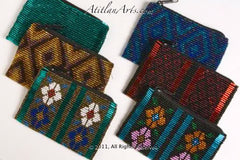 Beaded Change Purse, Assorted Colors & Styles