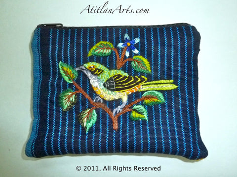 Birds of Santiago Passport~Change Purse -14