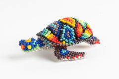 Sea Turtle; extra small; luster rainbow colors