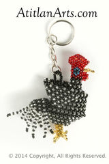 Chicken/Rooster black/silver [Animals, Domestic]