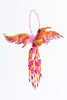 Hummingbird; extra large; pink,orange,red,yellow