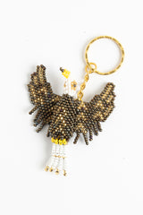 Bald Eagle; bronze, gold, white