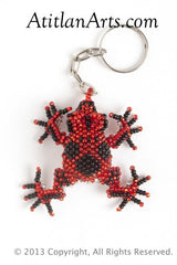 Tree Frog red; black [Frogs]