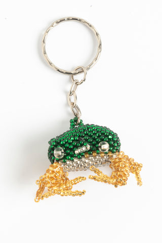 Crab: small; green, gold, silver