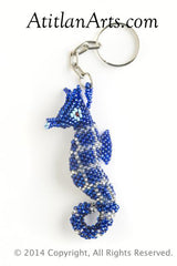 Seahorse, regular dark blue [Sea Life]