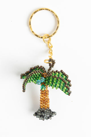 Palm Tree: small; green, gold