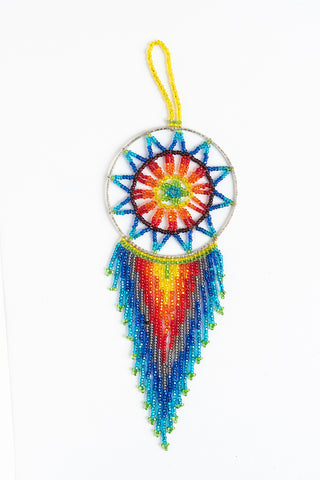 Dreamcatcher: small; rainbow colors