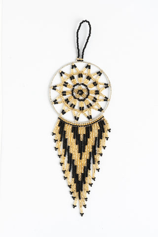 Dreamcatcher: small; gold and black