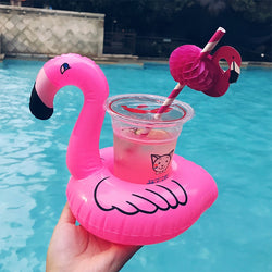 Flamingo Pool Drink Holder